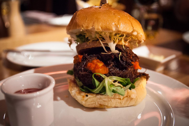 A Fancy Burger at Bar Boloud Restaurant Review - Never ...