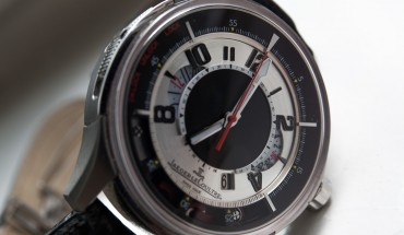 Dial of the Jaeger-LeCoultre AMVOX2 Chronograph