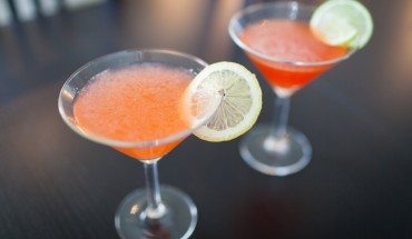 Non-frozen Strawberry Daiquiri and Strawberry Cosmopolitan 1934