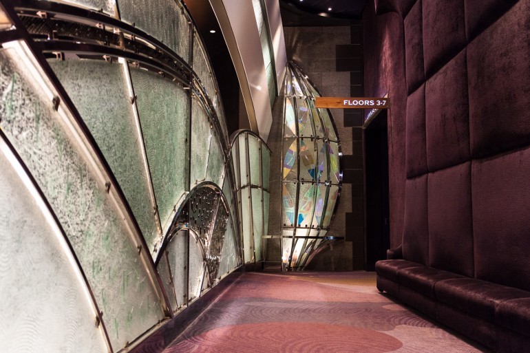 Aria Las Vegas guest elevators