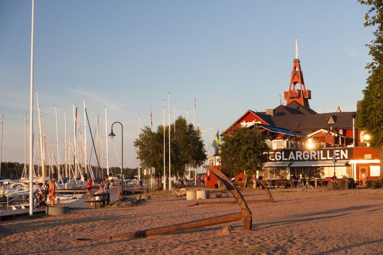Sandhamns Seglarhotell.