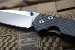 Chris Reeve Knives Small Sebenza 21 Reeve mark close-up