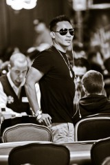 John Phan showing his bracelets at the 2008 WSOP