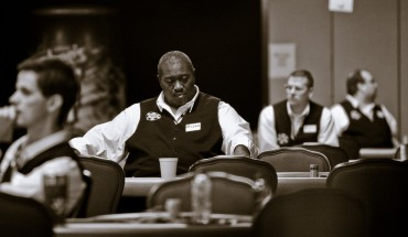 Dealers at the 2008 WSOP