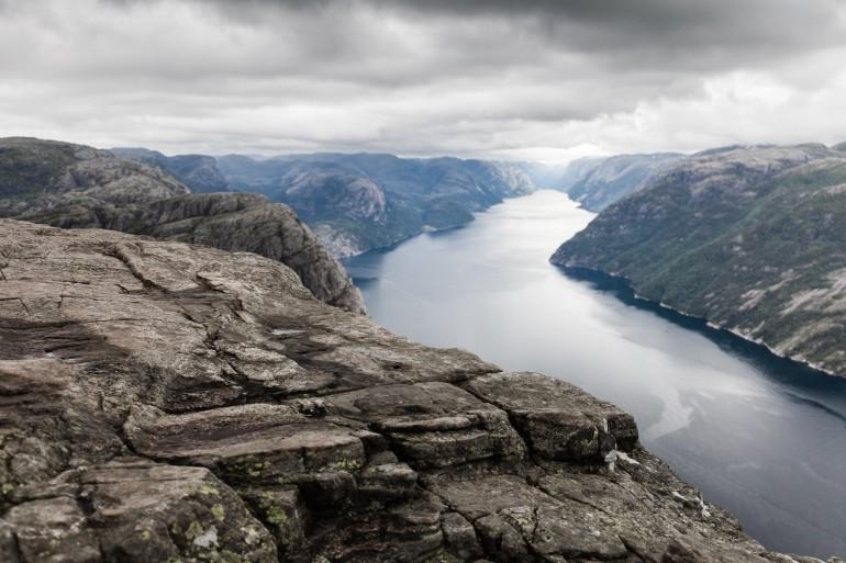 Preikestolen, the pulpit rock