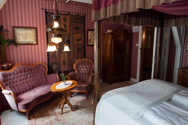 Room Karen Blixen at Hotel Union Øye