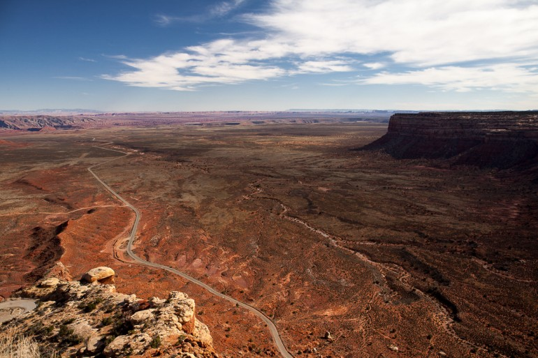 Moki Dugway, Muley Point Overlook