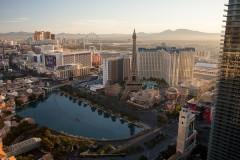 Las Vegas, Nevada, at dawn