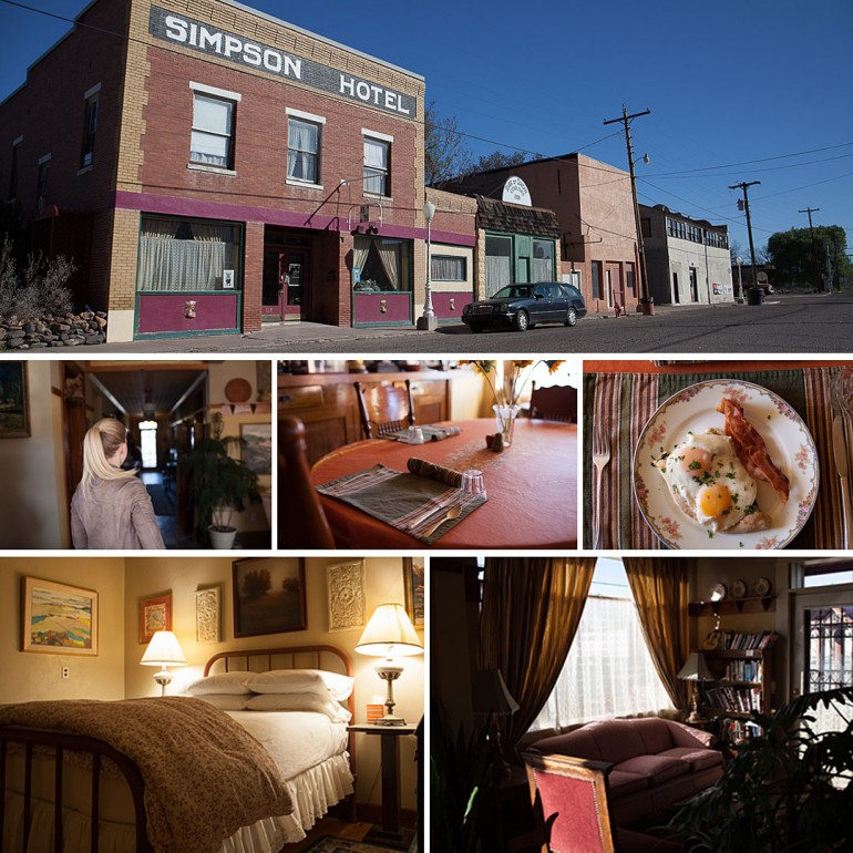 The Simpson Hotel, Duncan, Arizona