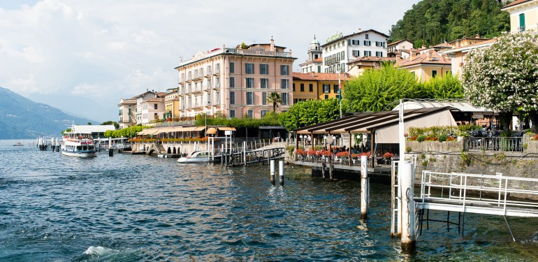 Bellagio seen from Lake Como