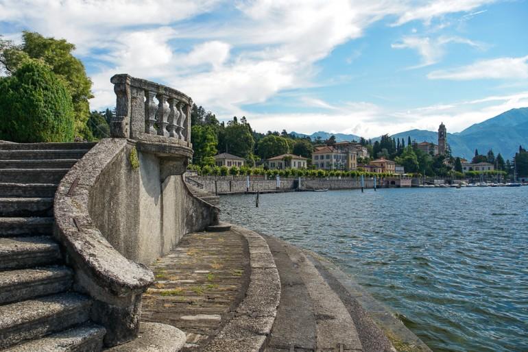 Lake Como dock