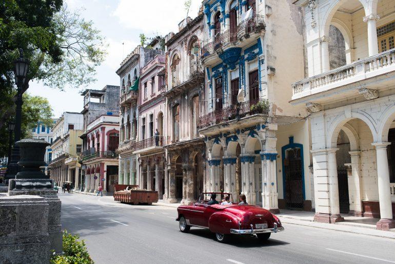 Paseo de Marti, Havana, Cuba