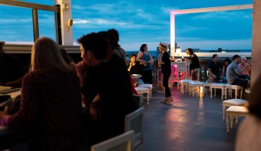 La Guaridas roof-top bar