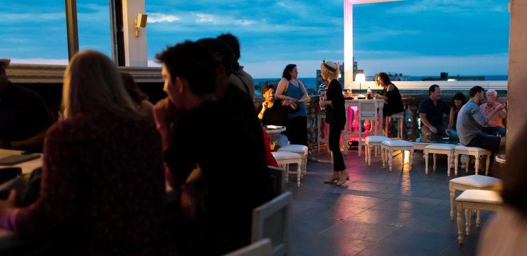 La Guaridas roof-top bar