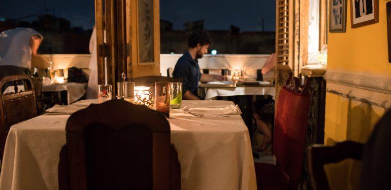 Dining room at La Guarida