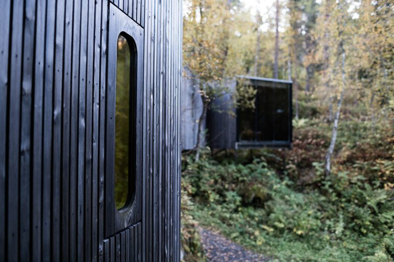 Landscape room exterior