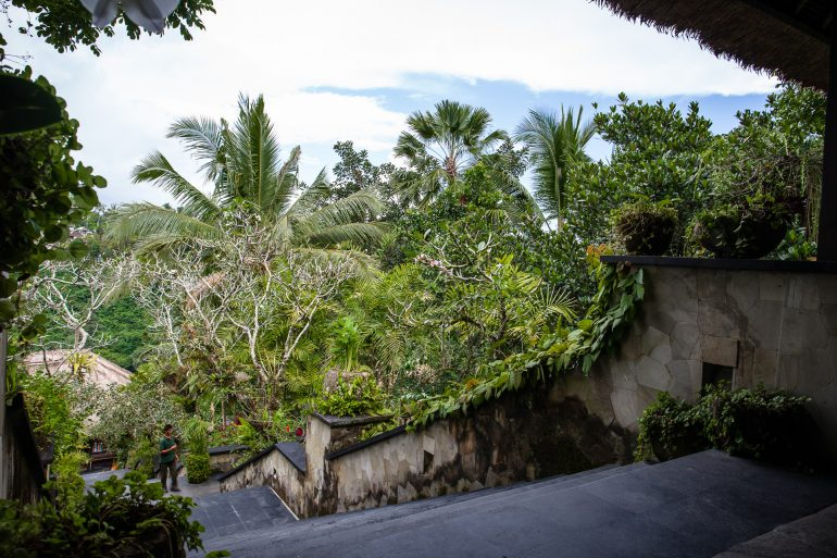Stairs at Hanging Gardens Bali