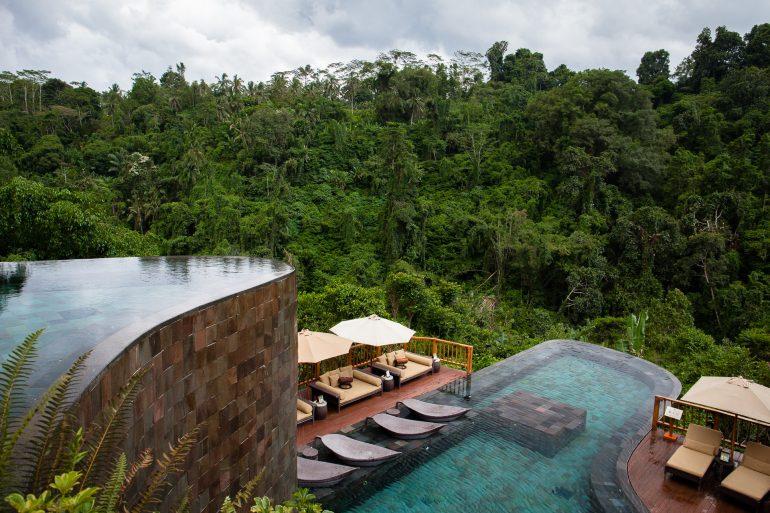 Pool at Hanging Gardens Bali